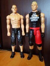 JOHN CENA vs BROCK LESNAR WWE Mattel Figures WWF 12 Inch