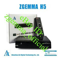 ZGEMMA H5 ✔DUAL CORE ✔TWIN TUNER ✔CABLE ✔FAST POST ✔LATEST CABLE BOX ✔MAY 2017