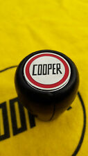 Rover Mini John Cooper Black Leather Gearknob Interior Sportspack Rare S Mpi Spi