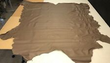 """UPHOLSTERY LEATHER - NSW Leather Co. """"Millennium - Basil""""  (L14)"""