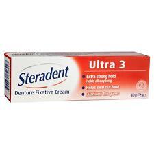 Steradent Ultra 3 Denture Fixative 40g