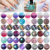 Thermal Color Changing Nail Polish Chameleon 3D Magnetic Nail Art Varnish 6ml