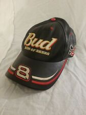 Dale Earnhardt Bud King Of Beers Leather Hat