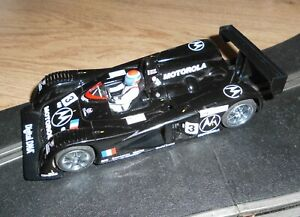 Vintage Scalextric Cadillac 2000 LMP Le Mans touring car # 3 superb with lights