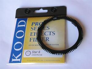 "Kood Pro Series ""Star 6"" effects filter Fits Cokin P size P-Series PRPCS6"