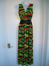 NEW WITH TAGS LADIES 12 14 16 MAXI DRESS SUMMER HOLIDAY CRUISE PARTY NIGHT OUT L