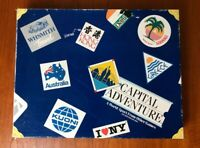 Capital Adventure : The Game Of International Travel - Mattel Vintage Board Game
