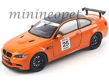 KYOSHO 08739 PM BMW M3 GTS 1/18 DIECAST MODEL 25 YEARS ANNIVERSARY FIRE ORANGE