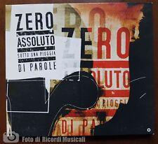 ZERO ASSOLUTO- SOTTO UNA PIOGGIA DI PAROLE **CD PERFETTO**