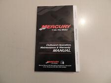 2011 Mercury 15 20 PS 2Zyl-4Takt owner s manual Betriebs anleitung Handbuch
