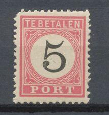 Nederlands Indië Port  6 C II postfris
