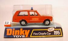 Dinky Toys 195 Range Rover Fire Chiefs Car in Box #022