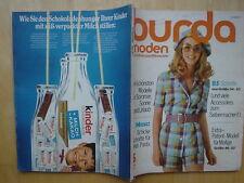 Burda Mode 05/71 Hot Pants P.March Hosenanzüge Bikinis Mieder BH 70er J vintage