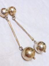 Long Earrings Vintage Sterling Silver