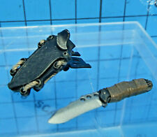 Hot Toys 1:6 MMS95 Terminator La Salvación John Connor figura-Cuchillo + Funda