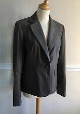 Superb *JESIRE* 100% Wool Tailored Pinstripe Jacket Work Wear UK12 nwot