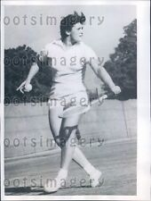 1960 Russian Tennis Star Anna Dmitrieva in New Delhi India Press Photo