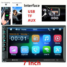 7inch Car MP3 MP5 Player TV FM Bluetooth Touch Screen Stereo Radio USB/AUX Light