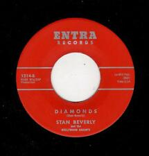 DOOWOP-STAN BEVERLY/HOLLYWOOD SAXONS-ENTRA-DIAMONDS/THE TEARS COME ROLLING DOWN