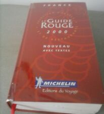 Livre - Guide rouge  France 2000