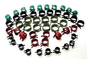 50x Plymouth Vacuum Fuel Hose Pinch Spring Clip Clamp Pack Clamps Clips