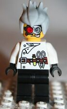 Lego CRAZY SCIENTIST MINIFIGURE from Monster Fighter Crazy Scientist (9466)