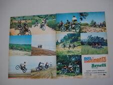 advertising Pubblicità 1973 MOTO BENELLI 125 CROSS