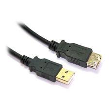 2M USB 2.0 A MÂLE À A Femelle Câble rallonge avec or connecteur