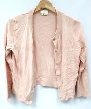 Ladies KATE SPADE Pale Pink Silk/Cotton/Cashmere Blend Cardigan Size XS - G18