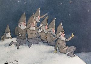 Kunstkarte / Postcard Art -  Ernst Kreidolf - Weihnachten