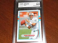 Dan Marino GRADED CARD!!!! 1989 Topps #293 Dolphins HOFer!! 8.5-2!!