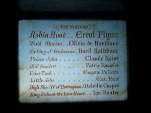 """16mm Film """"Robin Hood"""" 1938 Errol Flynn Olivia De Haviland color lite contrast"""