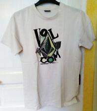 T Shirt Motif Volcom Blanc
