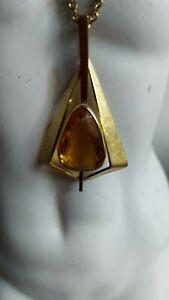 Halskette Damen goldfarben mit Anhänger