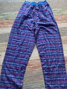 Men's Calvin Klein Lounge Pants Pyjama Bottoms in Blue. Size Small