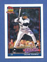 1990 Topps 40th Anniversary Frank Thomas #79 Gem Mint Quality & Well Centered!