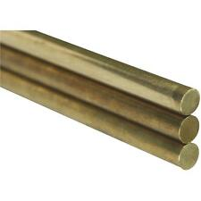 K&S 3/8X36 Solid Brass Rod