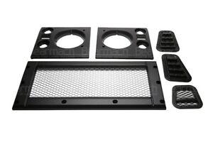 Land Rover Defender Mesh Style Satin Black Face Lift Kit Part# BA9451