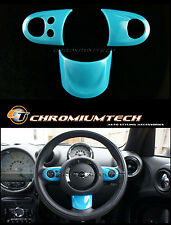 MINI Cooper/S/ONE BLUE MF Steering Wheel Cover R56 R57 R58 Coupe R59 Roadster