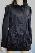 Jaeger Lightweight Blue Cotton Sheen Jacket Coat Size 12