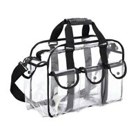 Clear Travel Makeup Bag Shoulder Strap Adjustable for Women Men, Travel, BeT3N7