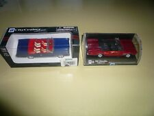 1966 Oldsmobile 442 1/43 New Ray - Two Cars - One Blue One Red