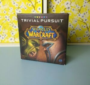 NEW Partially Sealed Trivial Pursuit World Of Warcraft WOW Board Game Party Card