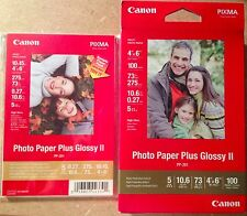 Canon 4''x6'' Photo Paper Plus Glossy II high gloss