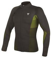 Dainese D-core No Wind Dry Mens Long Base Layer Shirt Black/fluo Yellow Xl/xxl