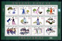 Marshall Inseln 2012 Weihnachten Christmas Kleinbogen Postfrisch MNH
