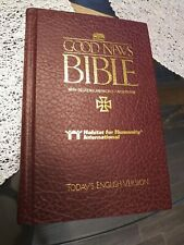 Good News Bible Maroon Hardcover by American Bible Society Maps Habitat Edition