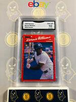 1990 Donruss Bernie Williams #689 Rookie - 10 GEM MINT GMA Graded Baseball Card