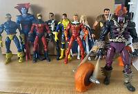 Marvel Legends Figures Lot Of 9 Xmen Avengers