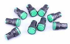 5pcs New 110V 22mm Green LED Indicator Pilot Signal Light Lamp [CAPT2011]
